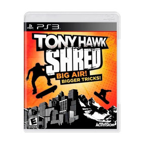 Tony Hawk Shred Big Air Bigger Tricks Ps3