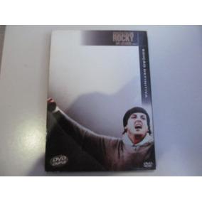 Dvd Rocky, Um Lutador - Edição Definitiva - Duplo Com Luva