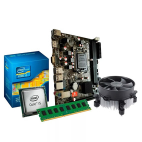 Kit I5 650 3.2ghz + 8gb Ram Ddr3 + Gabinete + Dvd +