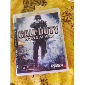 Call Of Duty World At War Ps3 Mídia Física