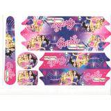 Adesivo Para Bicicleta Infantil Barbie Popstar Princesa