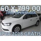 Volkswagen Gol 1.6 Flex Zero De Entrada + 60 X 799,00 Fixas