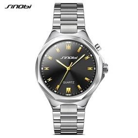 026f333e04b Relógio Sinobi À Prova Dágua De Aço Inoxidável - Joias e Relógios no ...