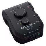 Zoom U22 Interfaz De Audio Usb Para Pc Mac iPad Soundgroup.
