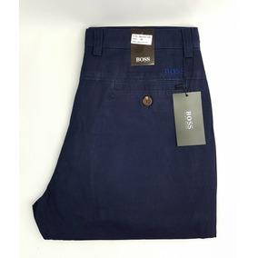 adf464fdb59 Pantalones Hugo Boss De Gabardina Slim Fit Varios Colores