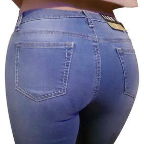 Pantalones Colombianos Jeans Dama Mezclilla Barato Push Up R 8bce51c07a7