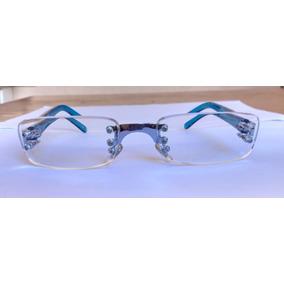 Armação Oculos Italy Design Preto Azul Tiffany - Óculos no Mercado ... e9d81c5bdd