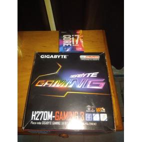 Kit I7 7700k + Placa Mãe H270m +16gb Ddr4