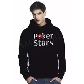 Moletom Poker Stars - Moletom no Mercado Livre Brasil 1bb6e9ed415