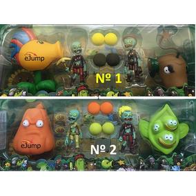 Jueguete Planta Vs Zombies X 4 Varios Modelos Dia Del Niño