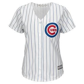 77546bf8fba98 Jersey Original Majestic Beisbol Mlb Dama Cubs Chicago Media