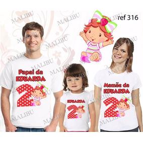 Camiseta Moranguinho Baby - Camisetas e Blusas no Mercado Livre Brasil 8eab62f737b