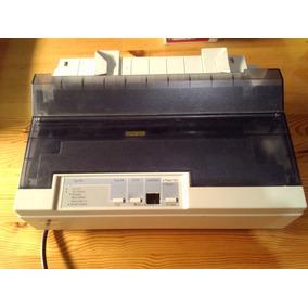 Impresora Epson Lx300 Usada, Detalle De Boton. Funciona Bien