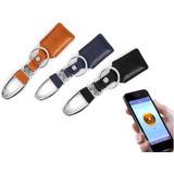 Llavero Antiperdida Buscador Bluetooth Gps Piel Premium