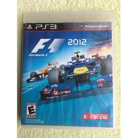 Formula 1 F1 2012 Portugues Ps3 Midia Fisica Frete R$10