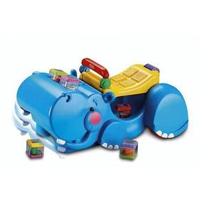 Fisher Price Hipopótamo Andador Traga-bloque Tienda Oficial