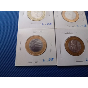 Moeda B C 40 Anos B C 50 Anos J K R$1,00 1998 (alpaca) L2
