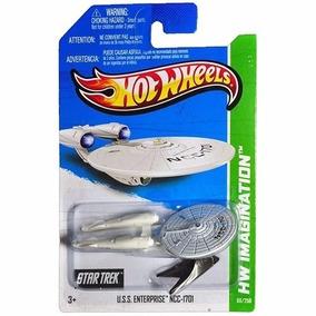 U.s.s Enterprise Ncc-1701 Star Trek Hot Wheels