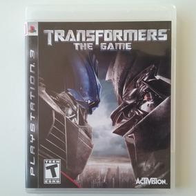 Transformers The Game Ps3 Mídia Física Perfeito
