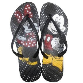 Chinelo Havaianas Minie E Mickey Decorativo Moda Verão