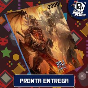 Cartão Mu Legend 2000 Redzen - E-prepag - Pronta Entrega !!