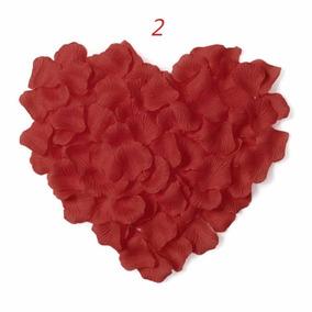 1.300 Pétalas De Rosas Artificiais Vermelha Casamento Noivas