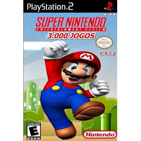Coleção Super Nintendo 3000 Jogos Patch Ps2 + Frete Grátis