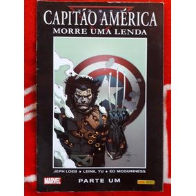 Capitão América-morre Uma Lenda, Em 2 Volumes, Panini
