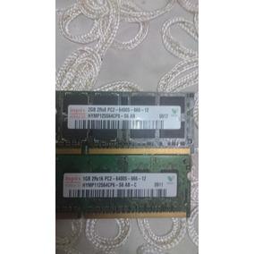 Memorias Ram Ddr 2 Bus 800mhs Para Lapto De 1 Y 2 Gb