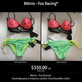 Bikinis Mujer Fox Racing Nuevos, Originales Talla M $350 C/u