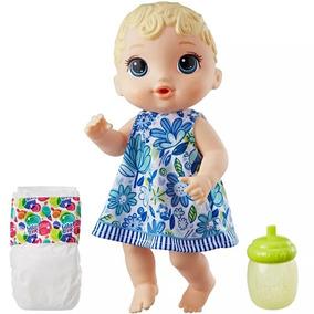 Boneca Hasbro E0385 Baby Alive Hora Do Xixi Loira