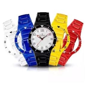 a23dd95a1cc Relogio Feminino Champion Pulseira Plastico - Joias e Relógios no ...