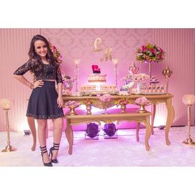 f014df4862ce8 Salto Que A Larissa Manoela Usou Na Festa De 15 Anos no Mercado Livre Brasil