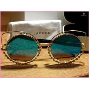 0de4afd3b9196 Oculos Marc Jacobs Aviador Acetato De Sol - Óculos no Mercado Livre ...