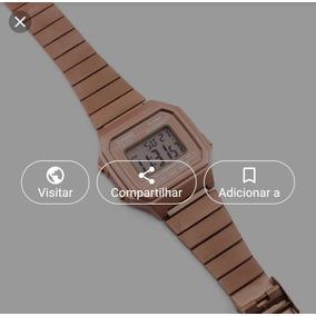 dd21ae16301 Casio Mini Rose - Relógio Casio no Mercado Livre Brasil