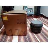 Nikon - Af-s Teleconversor Tc-17e Ii 1.7x Extensor De Lente