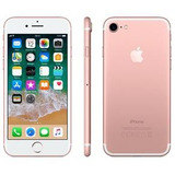 iPhone 7 32gb Ouro Rose Tela Retina 4,7 3d Touch Câmera 12m