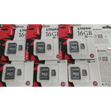Tarjeta Memoria Microsd 16gb Kingston Con Adaptador Sd