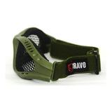 Óculos De Tela Airsoft Steel Bravo