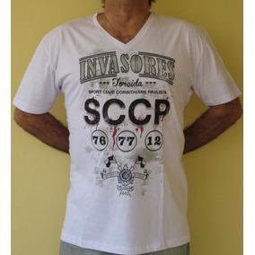 e6acfb0b2a Camiseta Do Corinthians G2 - Camisetas e Blusas no Mercado Livre Brasil