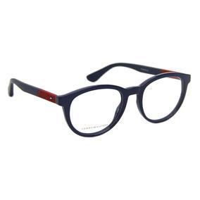6d2f4e6b71998 Armação De Óculos Feminino Vermelho Tommy Hilfiger - Óculos no ...
