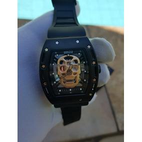 e6459cb9ea6 Relogio Caveirão De Luxo Masculino - Relógios De Pulso no Mercado ...
