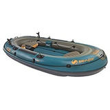 Bote Inflable Acuatico Hf 360 Sevylor Pesca Caza 6 Personas