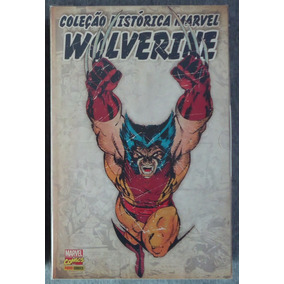 Coleção Histórica Marvel Wolverine Panini Completa / 2o Box