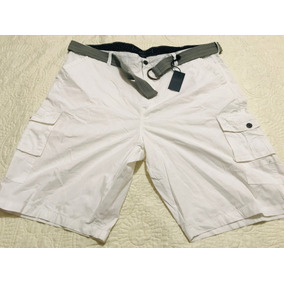 Short Cargo Blanco Talla 44 Marca Truth Substance