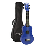 Martin Smith Uk-222-bl Ukulele Soprano, Azul...