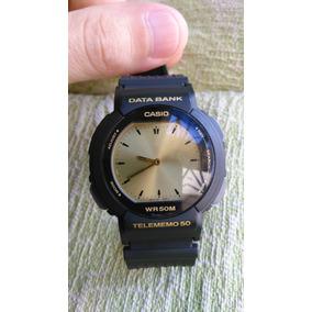 ea6c35eae75 Relogio Casio Data Bank Abx 23 - Relógios no Mercado Livre Brasil