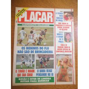Revista Placar Nº 1005 Com Poster Do Zé Carlos Do Inter