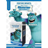 Perfume Infantil Monster University. Original, Con Licencia.