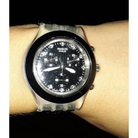 22aa7b2c006 Relogio Swatch Irony Diaphane Patented - Relógio Feminino no Mercado ...
